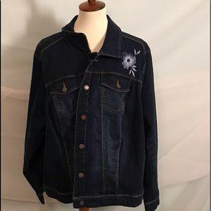 Jackets & Blazers - Stretch Denim Jacket